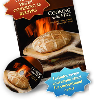 Wood Fire Oven Cookbook and DVD